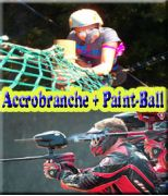 Accro Branche + Paint Ball 300