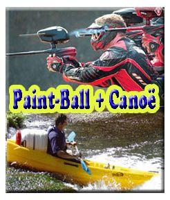 Paint-Ball 300 + Canoë 14 kms