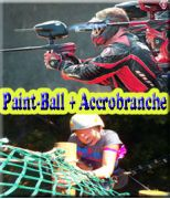 Paint-ball + Accrobranche