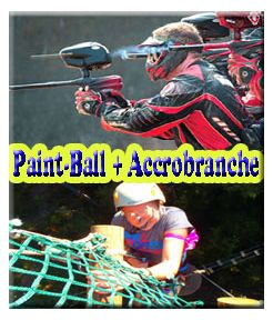 Paint Ball 300 + Accro Branche