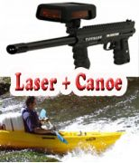 Laser Game + canoë 6 kms