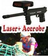 Laser Game + Accrobranche