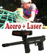 Accrobranche + laser game