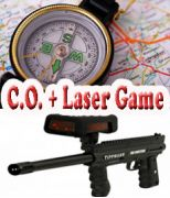 C.O. + Laser Game